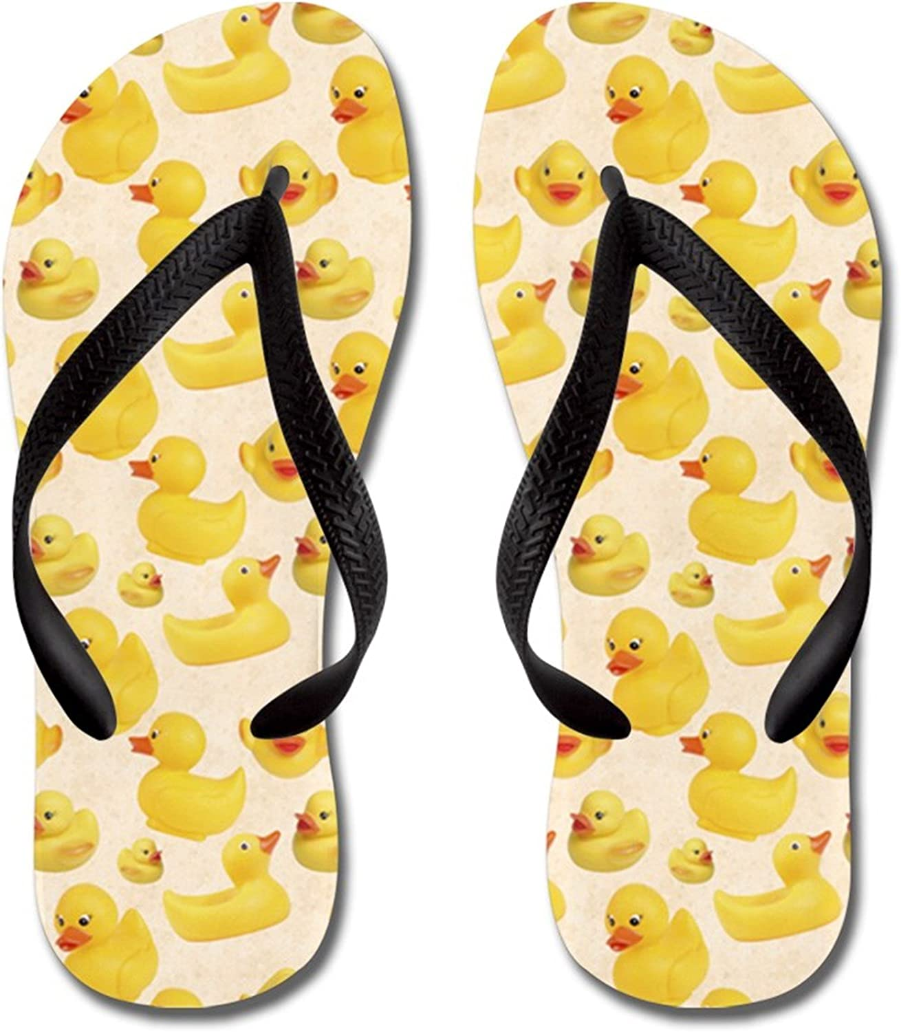 Inventory cleanup selling sale Lplpol Rubber Ducks Flip Flops for and Unisex Adult Kids Beach S Soldering