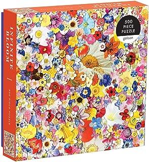 Galison Infinite Bloom 500 Piece Puzzle