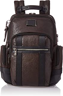 TUMI - Alpha Bravo Nathan Leather Laptop Backpack - 15 Inch Computer Bag for Men and Women