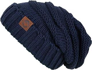Funky Junque FJ Knit Cap Women's/Men's Winter Hat Oversized Slouchy Beanie