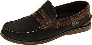 Footwear Studio Helmsman Mens 72015 Real Leather Casual Deck Shoes