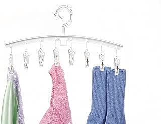 Whitmor Clip & Drip Add-On Hangers -White - Set of 3