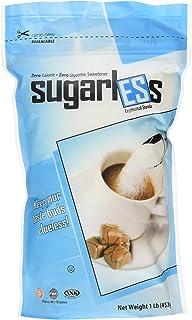 Health Garden Sugarless Erythritol and Stevia Blend Sweetener - All Natural - Non GMO - Kosher- Keto Friendly (1 lb)