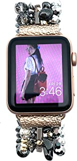 Erimish Eternal Rebel Under Her Spell Apple Watch Band Festival Party Evening Jewelry in Gold, Silver, Black