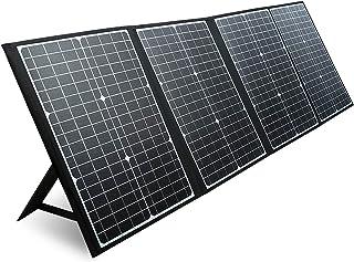 PAXCESS ソーラーパネル 120W ソーラーチャージャー QC3.0 Type-C ソーラー充電器 高変換効率 折りたたみ式 スマホ ノートパソコン ポータブル電源 急速充電 防水 防災グッズ キャンプ アウトドア用