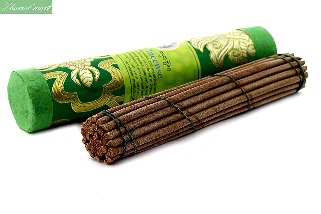 なめる可動式子供達Green Tara Tibetan Incense Sticks?–?Spiritual & Medicinal Relaxation Potpourrisより?–?効果的& Scented Oils