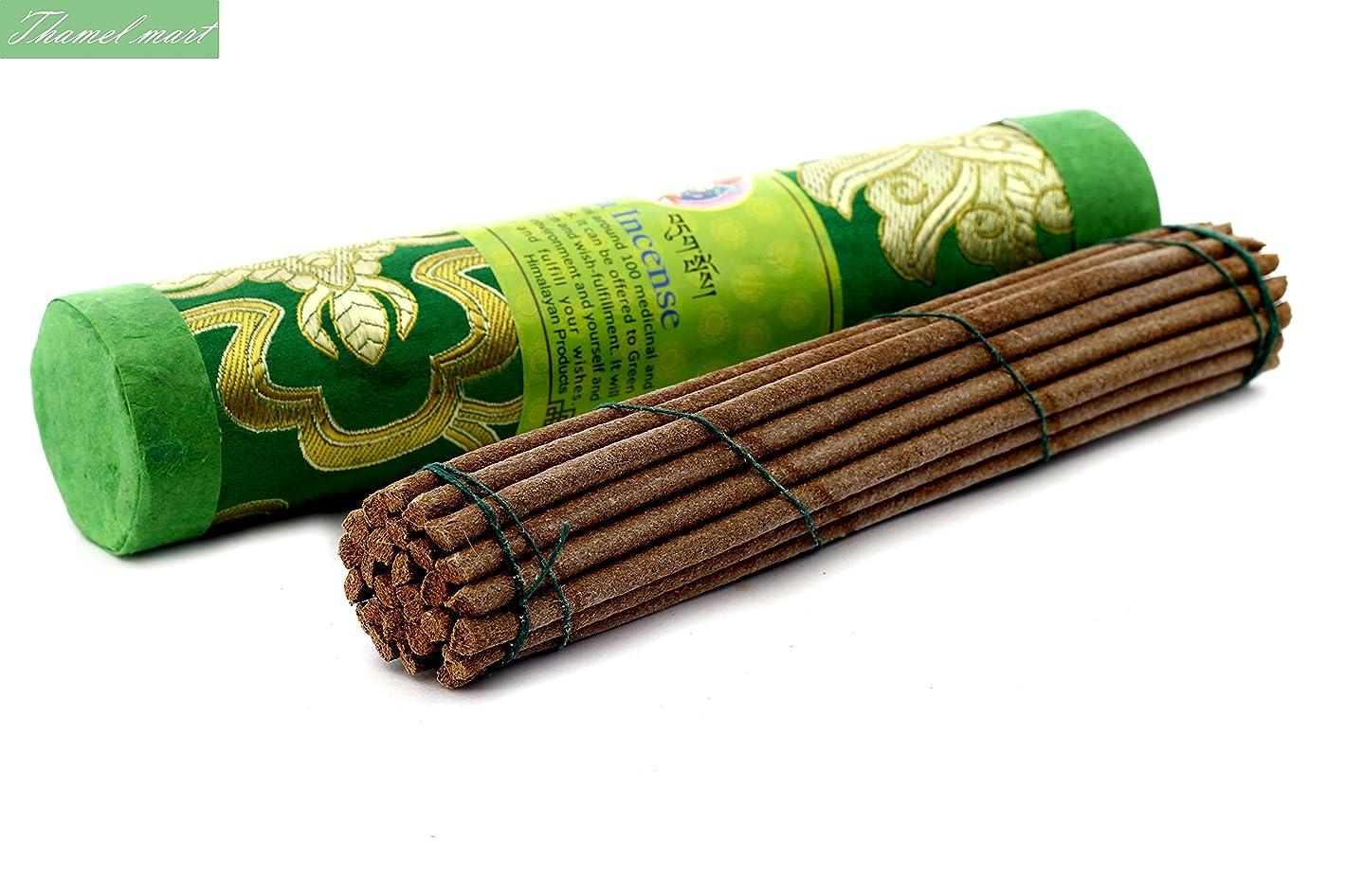 違反不規則性北極圏Green Tara Tibetan Incense Sticks?–?Spiritual & Medicinal Relaxation Potpourrisより?–?効果的& Scented Oils