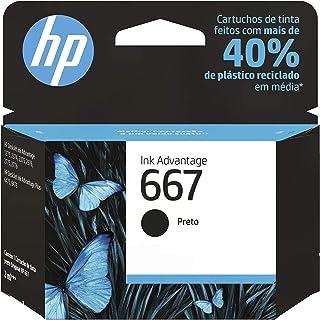 Cartucho HP 667 Preto Original (3YM79AB)