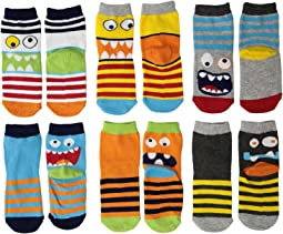 Monster Crew Socks 6-Pack (Toddler/Little Kid/Big Kid)