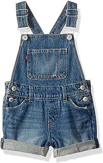 Girls' Denim Shortalls