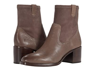 Frye Monroe Stretch Bootie (Light Grey Vintage Veg Tan/Stretch Leather) Women