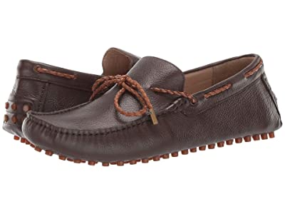 CARLOS by Carlos Santana SFO Driver Loafer (Brown Calfskin Leather) Men