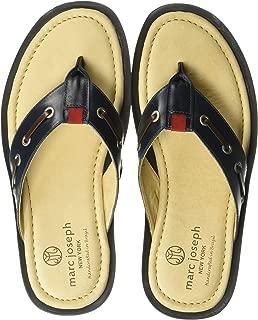 MARC JOSEPH NEW YORK Mens Leather Made in Brazil Cypress Hill Fashion Comfort Sandal