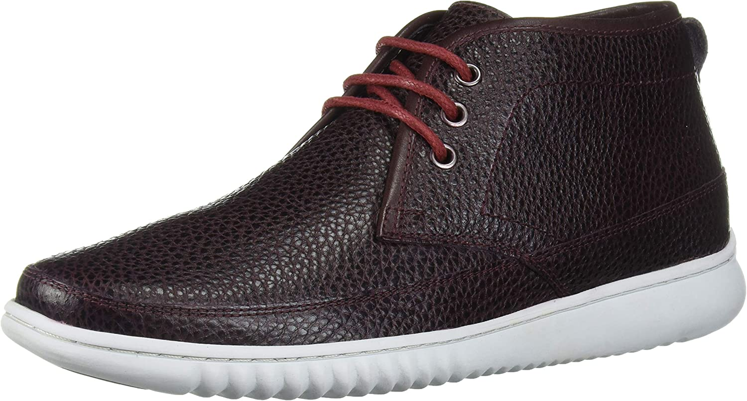 Driver Club Inventory cleanup selling sale USA Men's Geuine Leather Boot Ankle Chukka Snea with New item