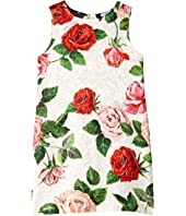 Dolce & Gabbana Kids - Sleeveless Roses Dress (Big Kids)