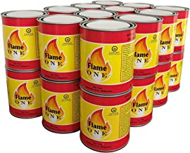 Flame One Indoor or Outdoor Premium Gel Fireplace Fuel in 13 Oz Cans (24 Pack)