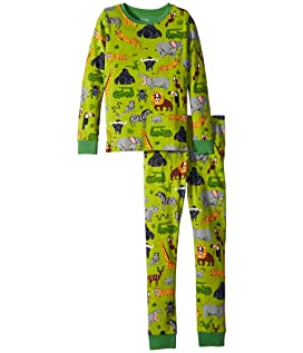 Safari Adventure Long Sleeve Pajama Set (Toddler/Little Kids/Big Kids)