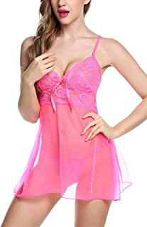 bc1913ec3d408 Amazon.fr : lingerie sexy erotique - CRAVOG : Vêtements