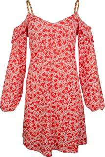 Michael Kors Women's Halter Ring Neck Jersey Dress
