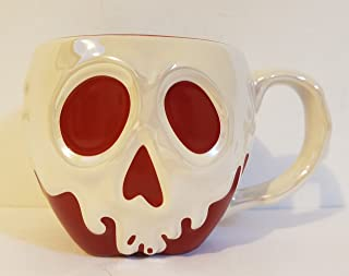 Theme Park Merchandise Disney Snow White Evil Queen's Poison Apple Ceramic Mug