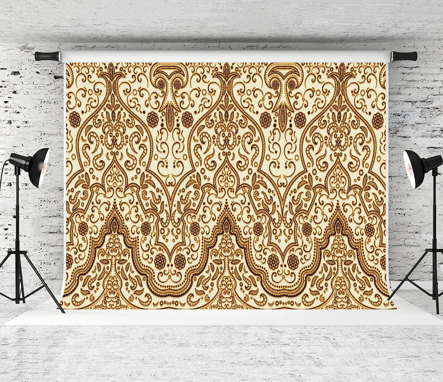 ZOANEN Photography Very popular! Max 67% OFF Background Arabesque Eastern Pr Middle Arabic