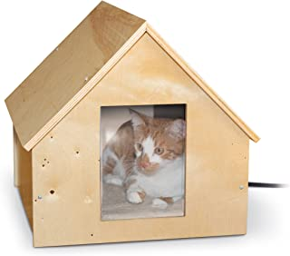 K&H Pet Products Birchwood Manor Outdoor Kitty Home (Heated or Unheated)