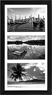 Americanflat 8x16 Collage Picture Frame, Black