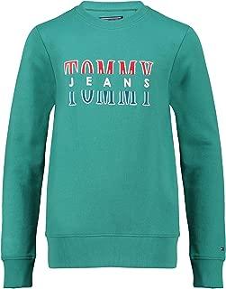 Tommy Hilfiger Boys 8719702270-Turquoise Green Sweatshirts