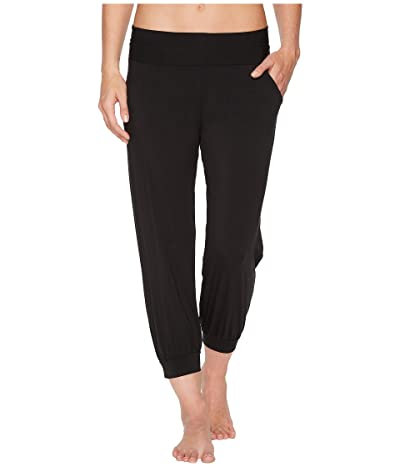 Commando Butter High-Rise Capri Jogger SL155 (Midnight) Women