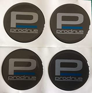 SCOOBY DESIGNS VAUXHALL VXR ALLOY WHEEL CENTRE DOMED STICKERS X4 CORSA INSIGNIA ASTRA BLUE R ALL SIZES 50MM