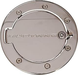 DefenderWorx 900708 Chrome Mustang Logo Locking Fuel Door