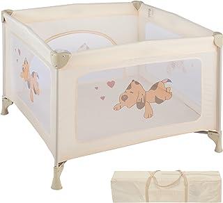 TecTake Parque para bebé Cuna Infantil de Viaje portátil (
