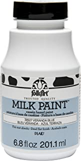 FolkArt 38927 Milk Paints, Veranda Blue, 6.8 Ounce, 6.8 oz
