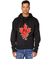 DSQUARED2 - Acid Maple Leaf Hoodie Sweatshirt