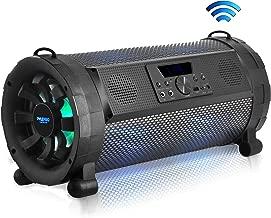 Pyle Bluetooth Boombox Street Blaster Stereo Speaker – Portable Wireless 300 Watt..