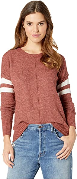Long Sleeve Pullover w/ High-Low Hem