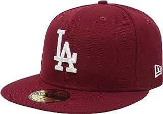 burgundy la dodgers hat
