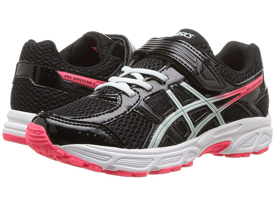 ASICS Kids GEL-Contend 4 PS (Toddler/Little Kid) (Black/Soothing Sea) Girls Shoes