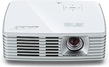 Acer K132 WXGA DLP LED Projector, 600 Lumens, HDMI/MHL, White