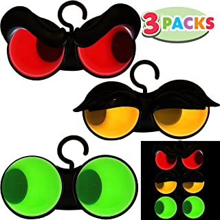 Joiedomi Halloween Flashing Peeping Eyes Lights (3 Pack); with Timer Function