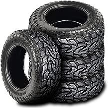 Set of 4 (FOUR) Mazzini Mud Contender Mud Tires - 33X12.50R18LT 118Q E (10 Ply)