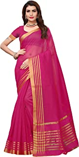 GoSriKi Women Saree with Blouse Piece