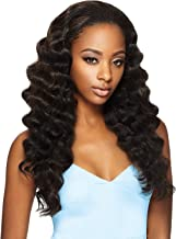 OUTRE Synthetic Hair Half Wig Quick Weave Ashani (1B)