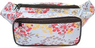 SoJourner Dandelion Floral Fanny Pack - Cute Packs for men, women festivals raves | Waist Bag Fashion Belt Bags