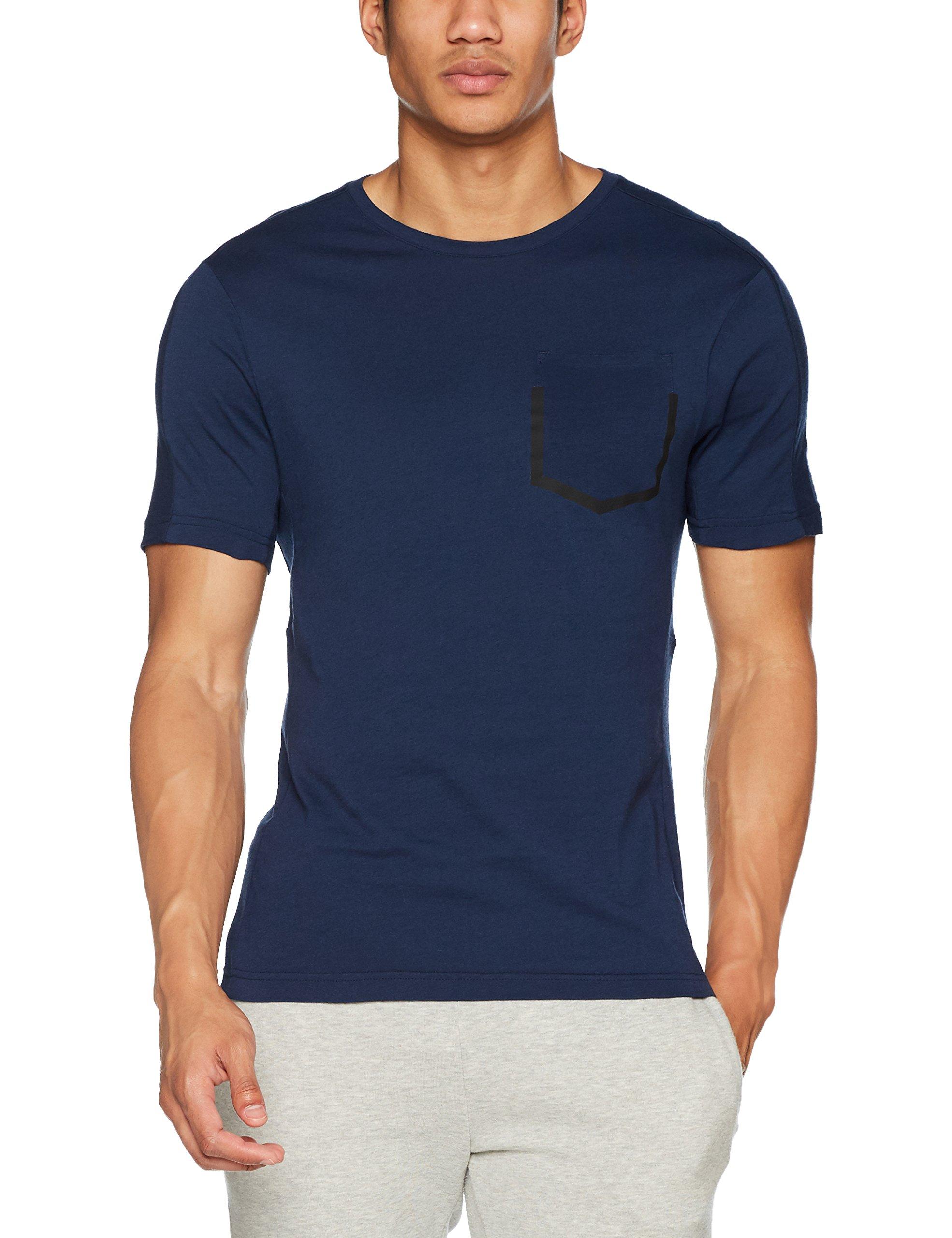 Reebok Herren RCF Polyamid Crew Neck Sweatshirt, Blau (Maruni), L