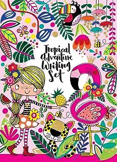 Rachel Ellen Tropical Adventures Writing Set Folder