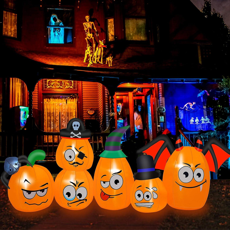 ZALALOVA Halloween Inflatable Decorations Max 84% OFF Long Ft P 8 Minneapolis Mall