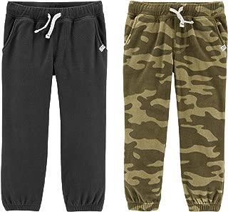 Carter's Boys 2T-8 2 Pack Warm Fleece Active Pants