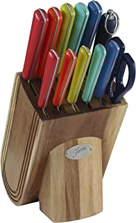 Fiesta 13 Piece Cutlery Set With Block, Merengue