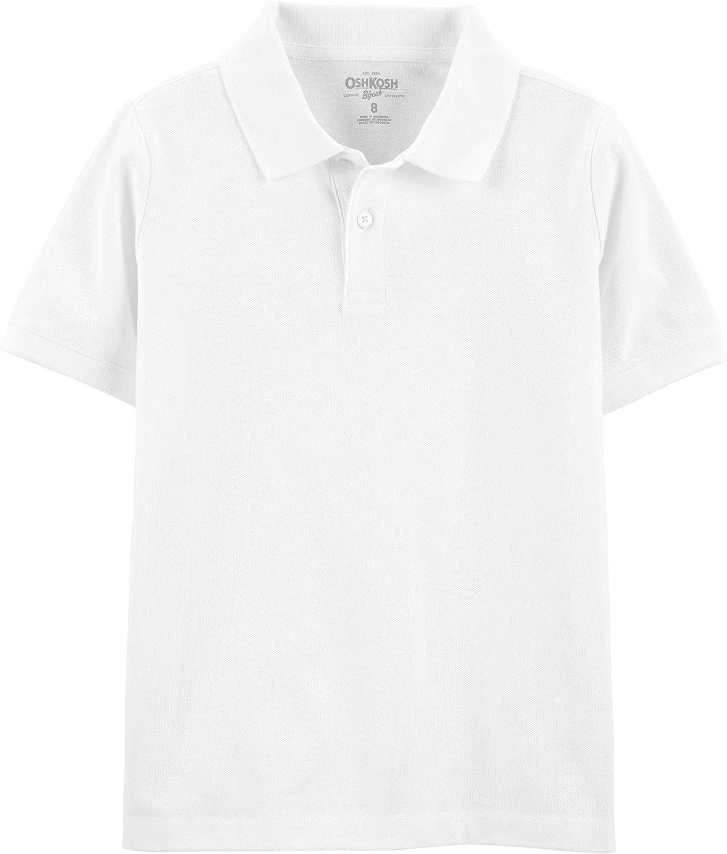 OshKosh B'Gosh Boys' Short Sleeve Uniform Polo